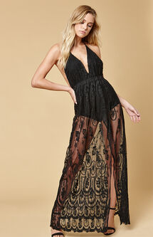 Stolen Nights Maxi Dress