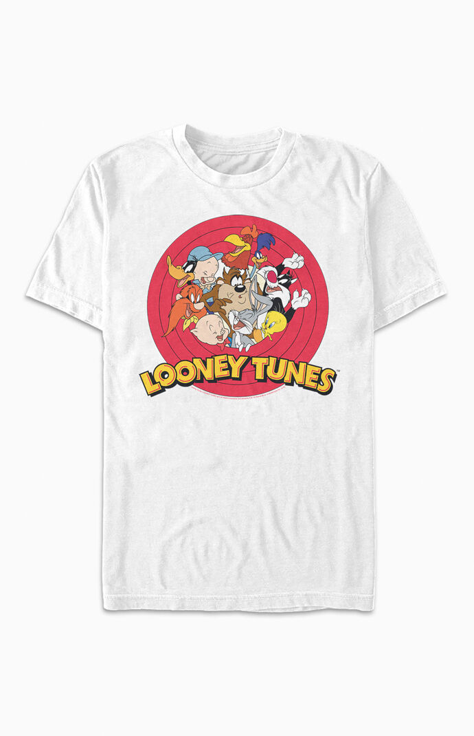 Looney Tunes Group Logo T-Shirt
