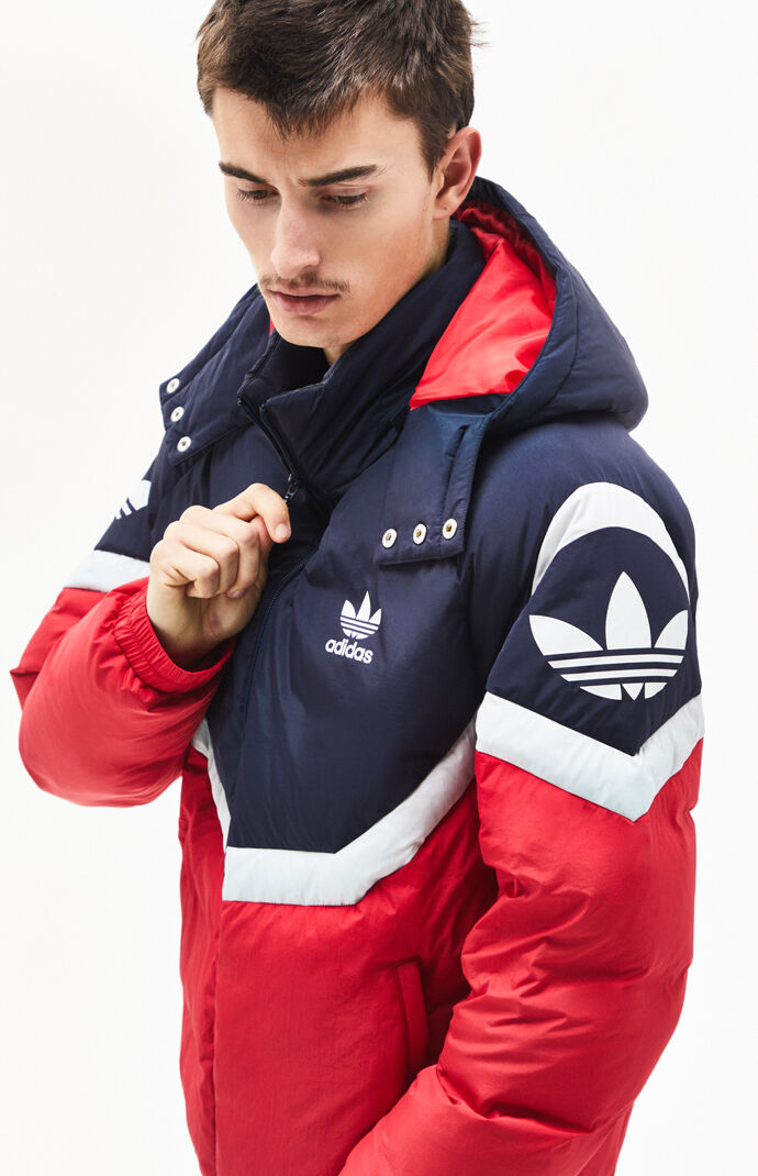 Adidas Sportive Down Puffer Jacket by Pacsun
