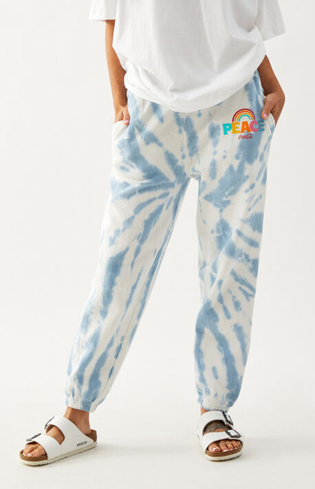x Coca-Cola Peace Tie Dye Sweatpants
