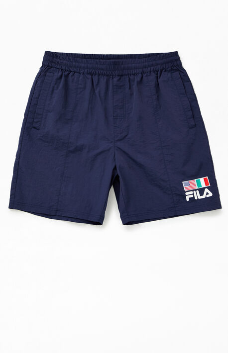 Flag Nylon Shorts