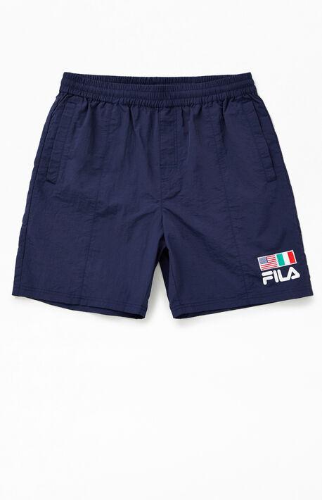 Flag Nylon Shorts