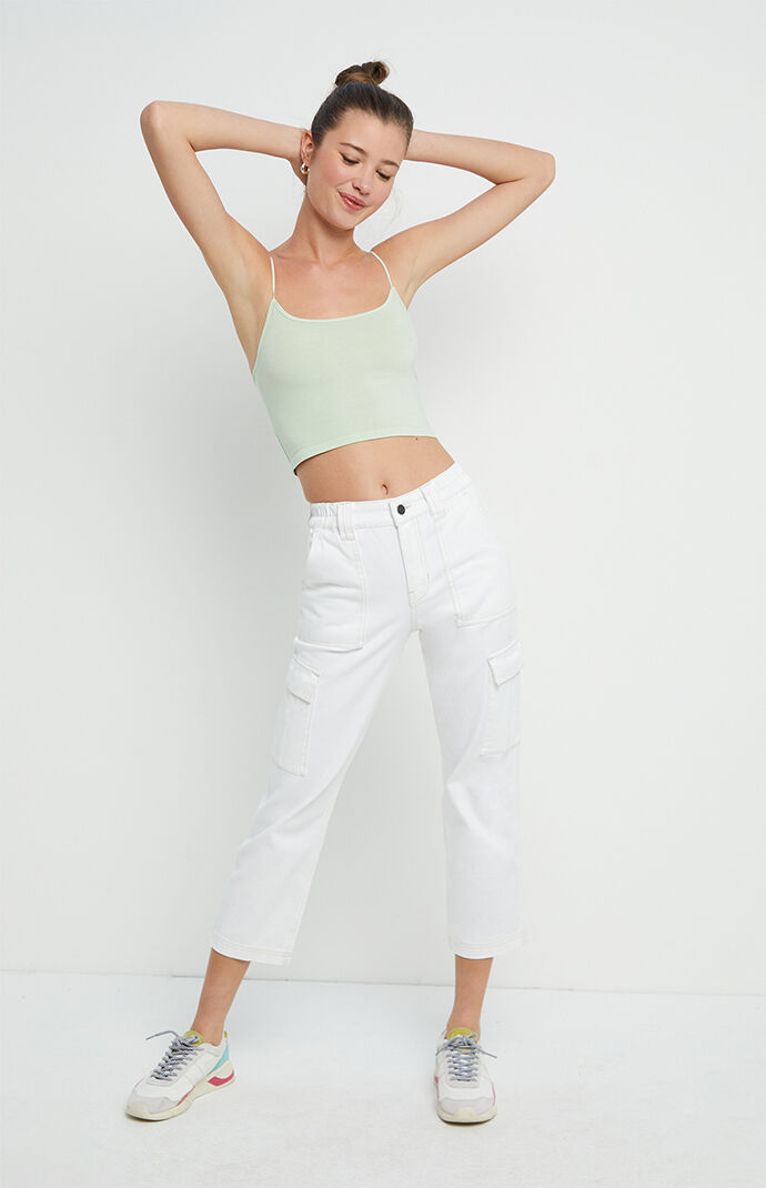 Washed Crop Cami Top