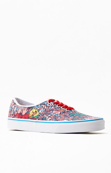 x Where's Waldo Authentic Shoes