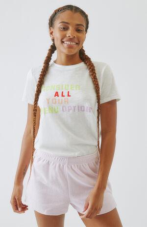 Menu Options T-Shirt image number null