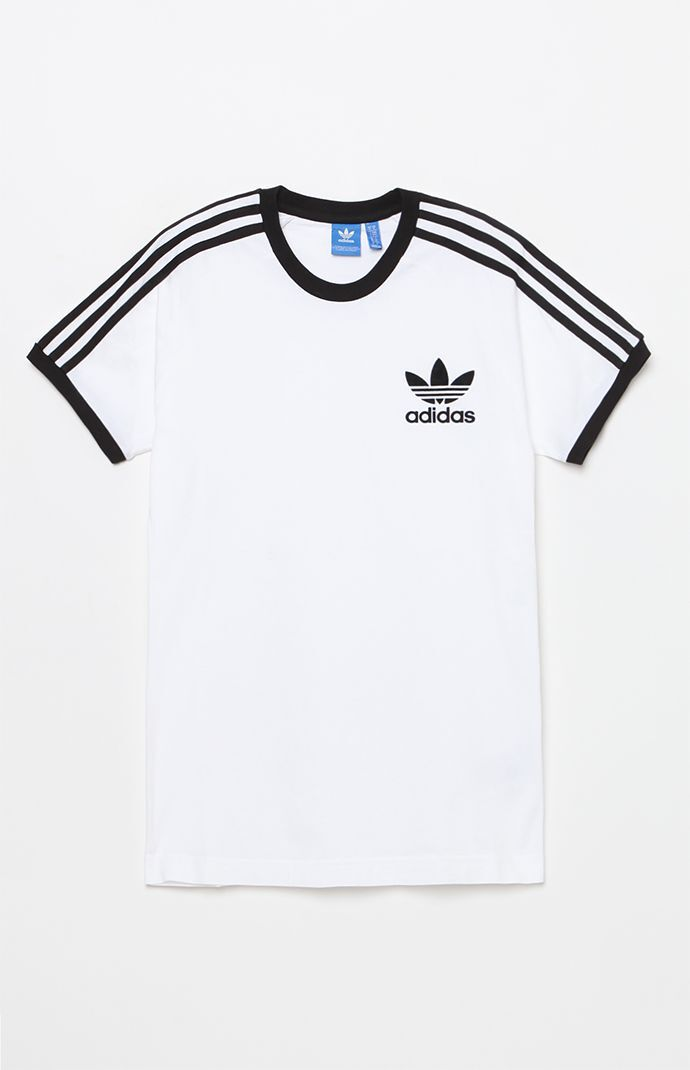 adidas California White & Black T-Shirt - White/black 5961198