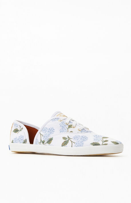 Women's Eco Blue Vintage D'Orsay Sneakers