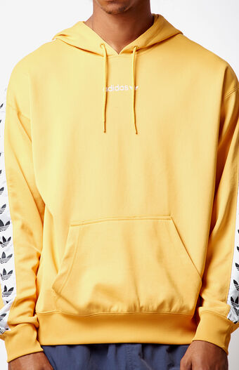 adidas TNT Tape Yellow Pullover Hoodie at PacSun.com