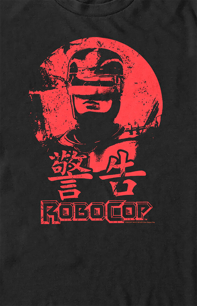 RoboCop Red Sun Portrait T-Shirt