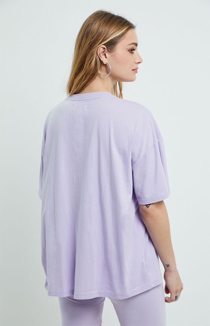 Lilac Boyfriend T-Shirt