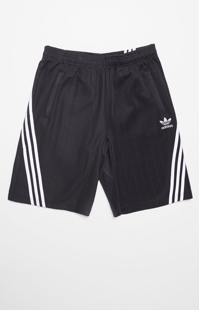 adidas Mens Wrap Active Shorts - Black/white 7223951
