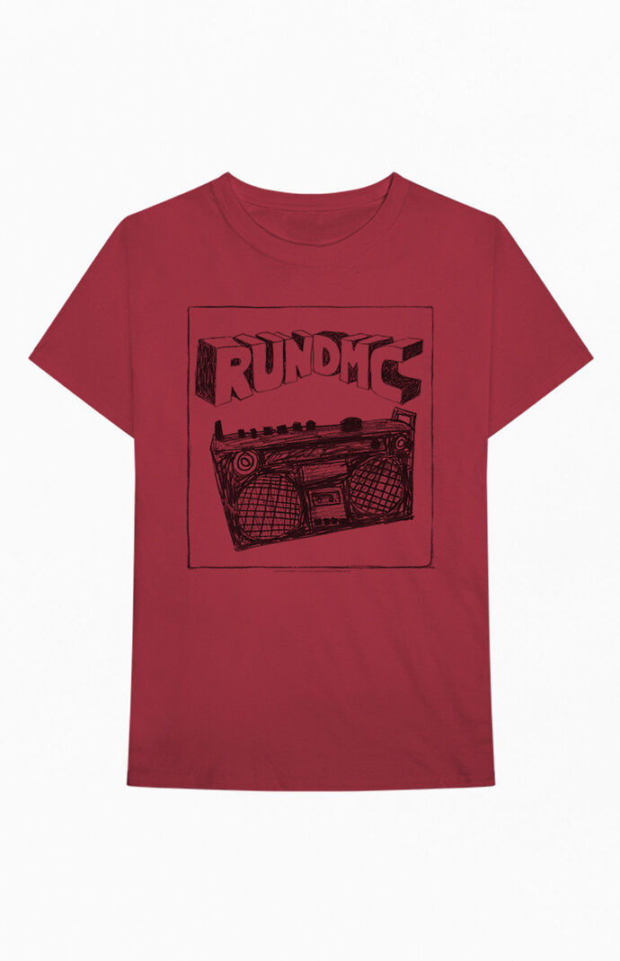 Run DMC Sketch Boombox T-Shirt