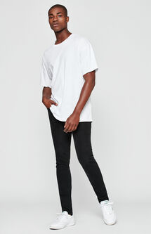 Skinniest Comfort Stretch Black Jeans