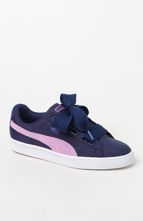 cf3476cf6595 Women  39 s Basket Heart Nylon Sneakers · Puma Women s ...
