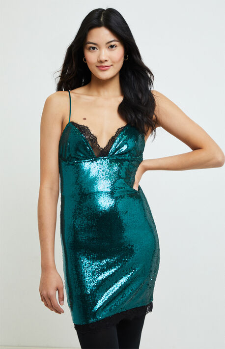 Roxini Sequin Mini Dress