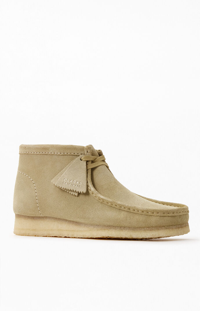 Maple Wallabee Shoes