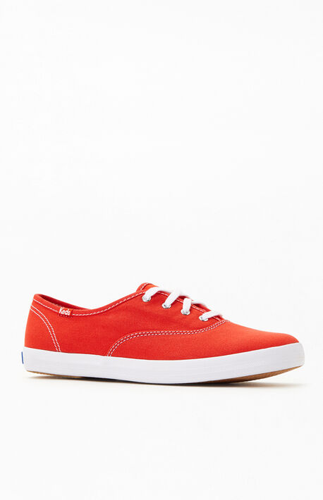 Women's Red Champion Sneakers