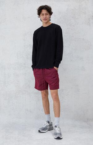 Chad Nylon Shorts image number null