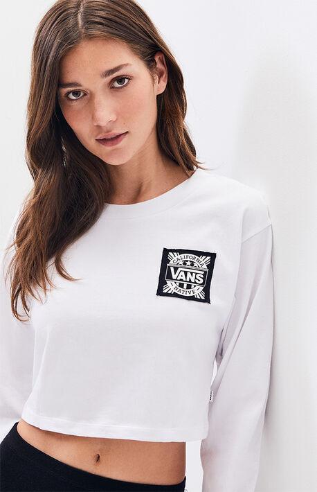 530e9c4d9bb1 White Cali Native Long Sleeve T-Shirt