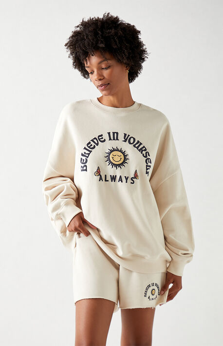 Believe In Yourself Crew Neck Sweatshirt