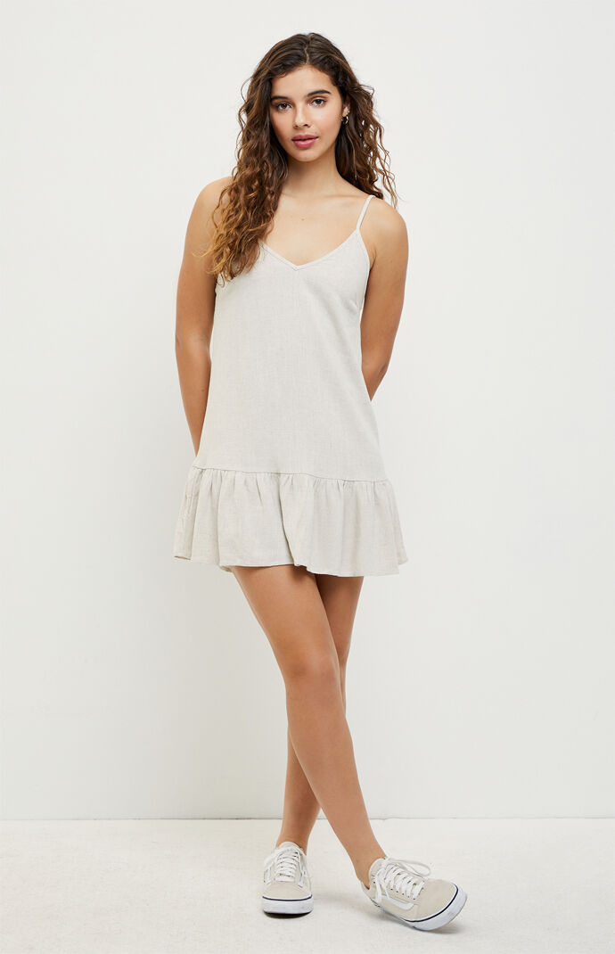 Dropped Waist Babydoll Dress