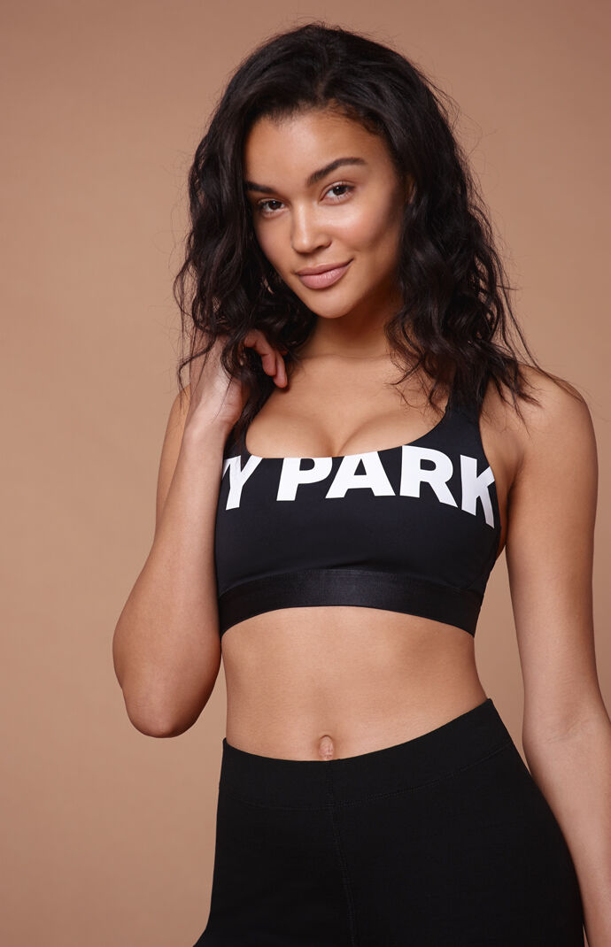 Ivy Park Womens Logo Detail Bra - Black 7951775