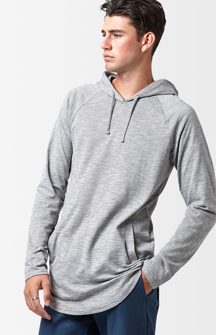 PacSun Walker Hooded Long Sleeve Scallop T-Shirt at PacSun.com