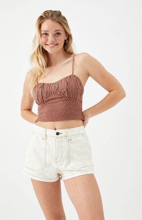 Bone Cargo Shorts