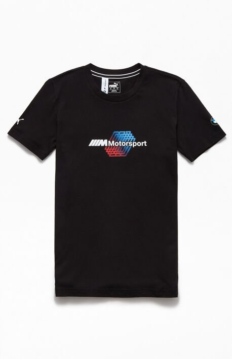 x BMW Black Motorsport Logo T-Shirt