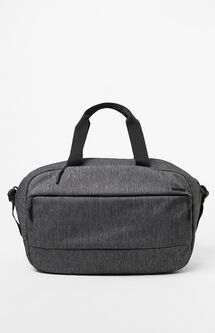 City Black Laptop Duffel Bag