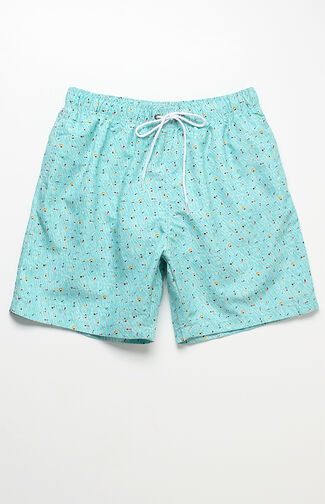 "Kestin Hare Volley 16"" Swim Trunks"