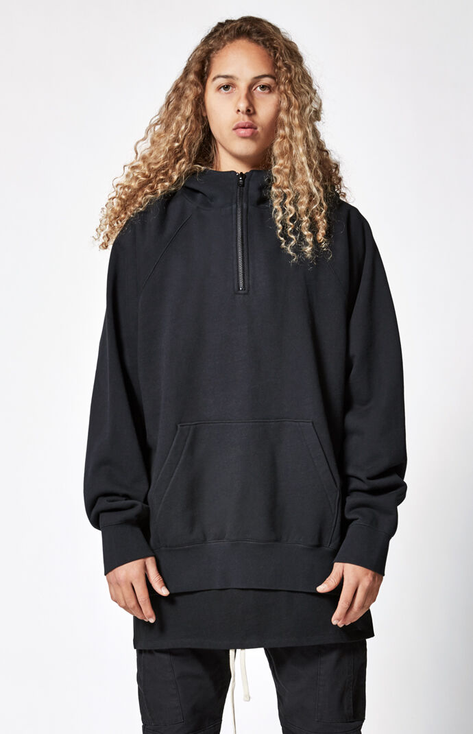 Fear Of God Fog Essentials Half Zip Pullover Hoodie Pacsun