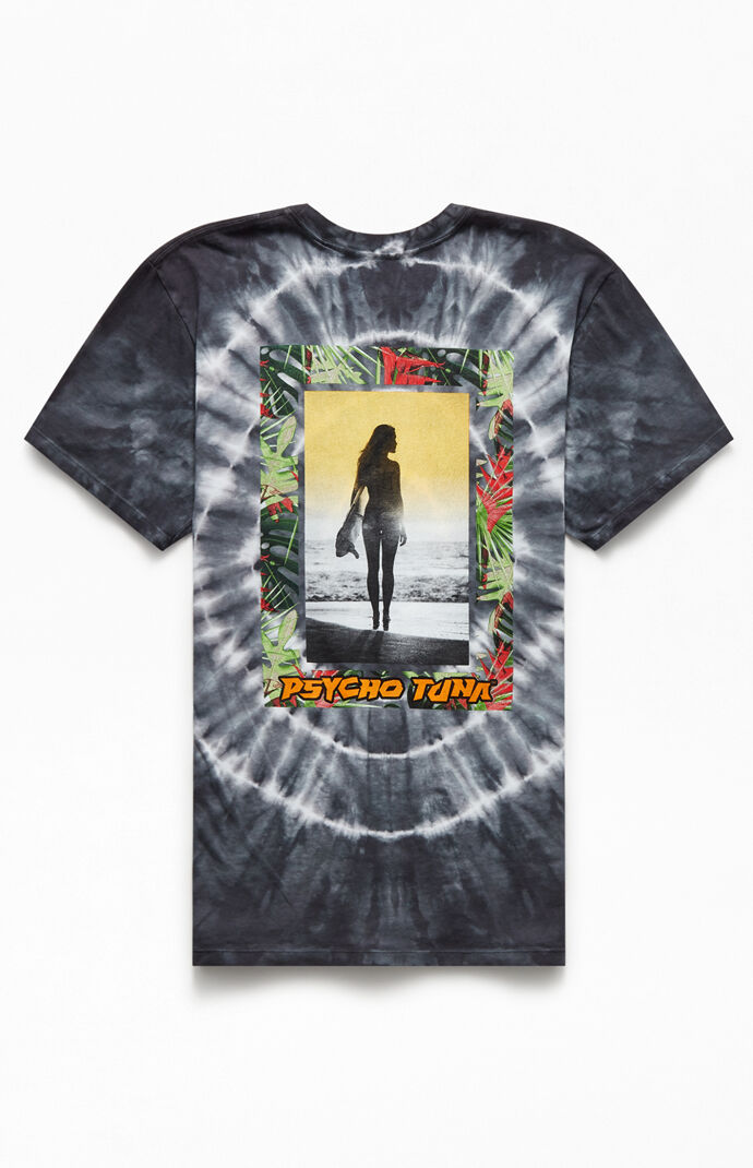 Tie-Dyed Tropical Beauty T-Shirt