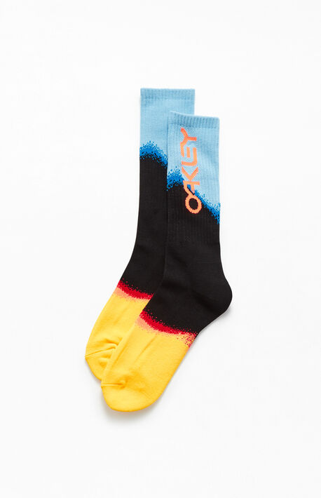 Gradient Crew Socks