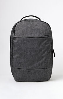 City Compact Grey Laptop Backpack