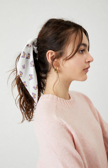 Royal Butterfly Flowy Scrunchie