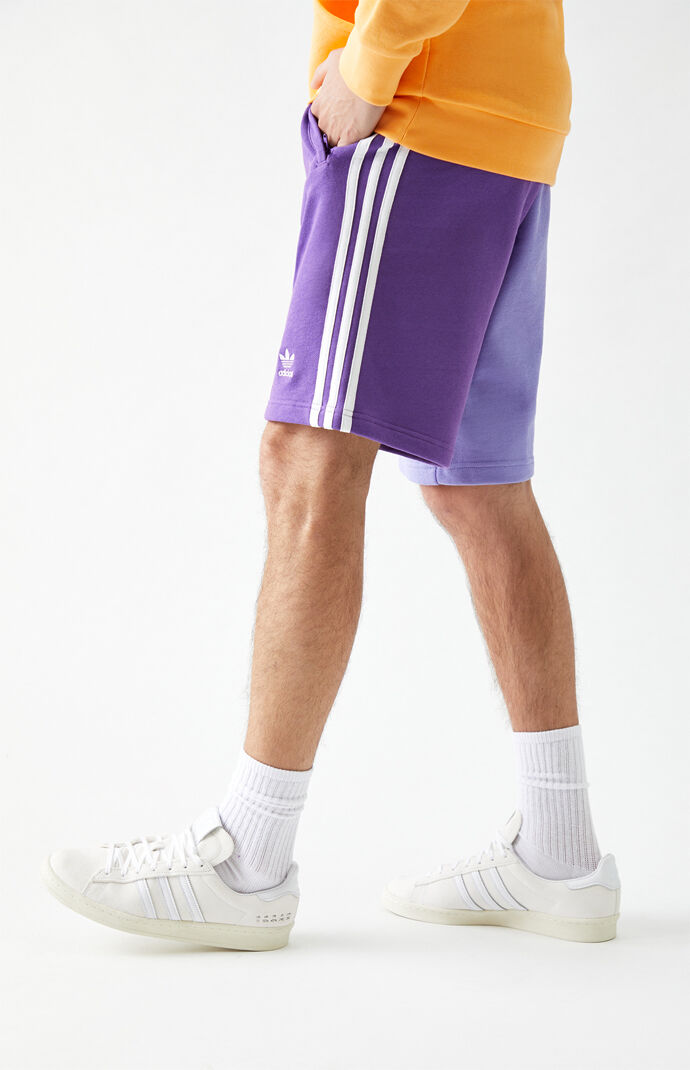 Blocked Trefoil Sweat Shorts