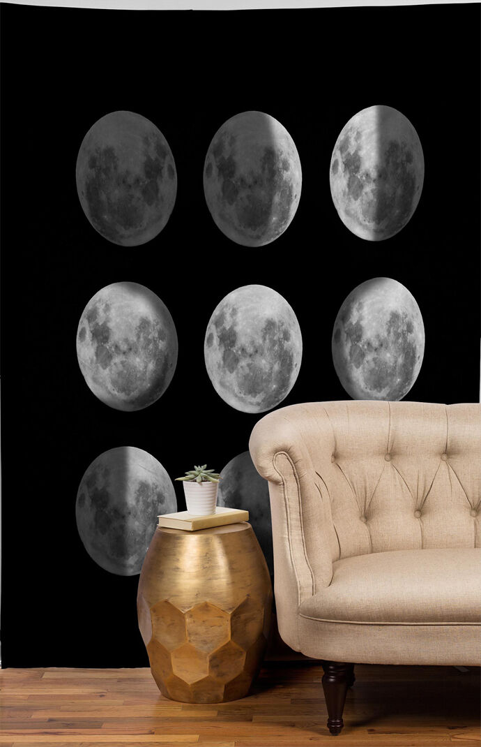 Moon Phases Sun Tapestry
