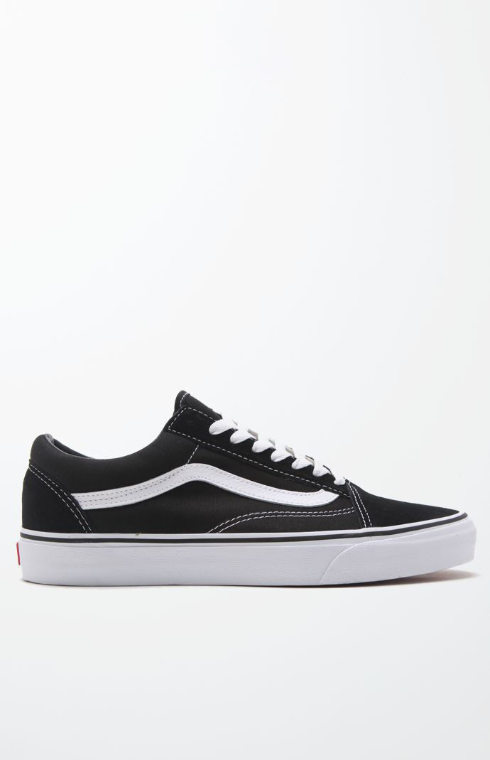 Canvas Old Skool Black & White Shoes