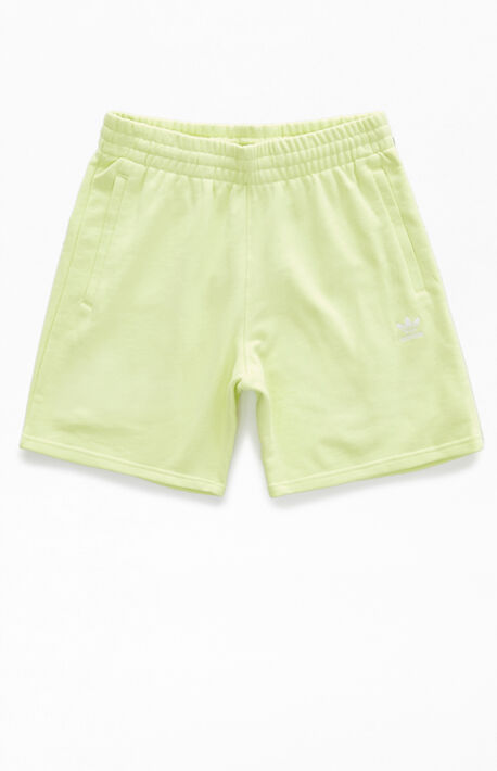 Yellow Essential Sweat Shorts