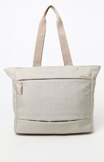 City Market Khaki Laptop Tote Bag