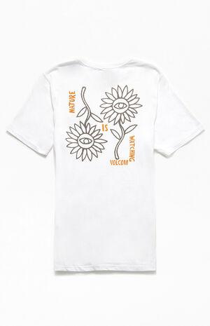Organic Daisy Flip T-Shirt image number null