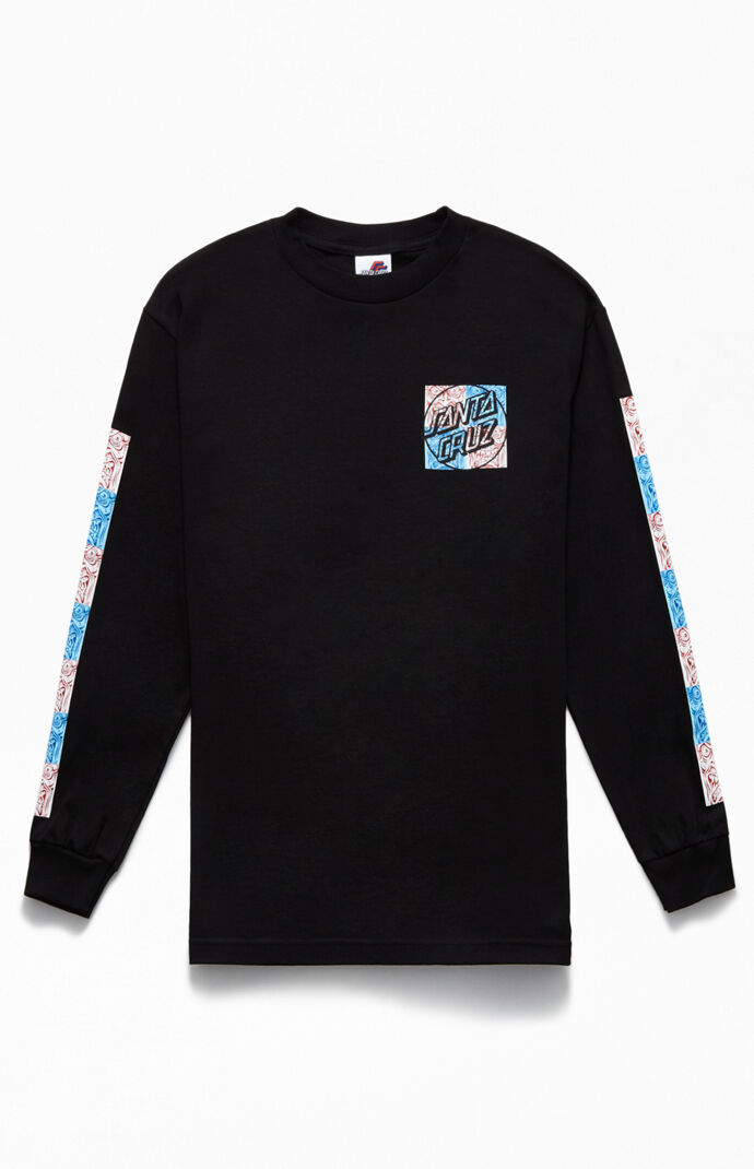 Rob Face Tile Long Sleeve T-Shirt
