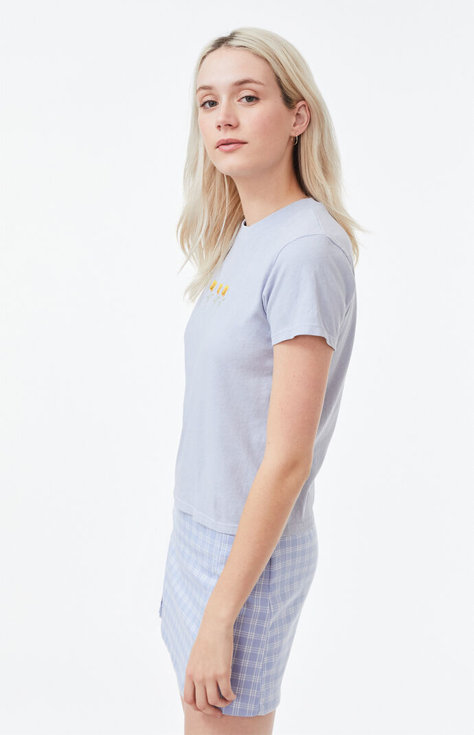 Helen Poppy Cropped T-Shirt