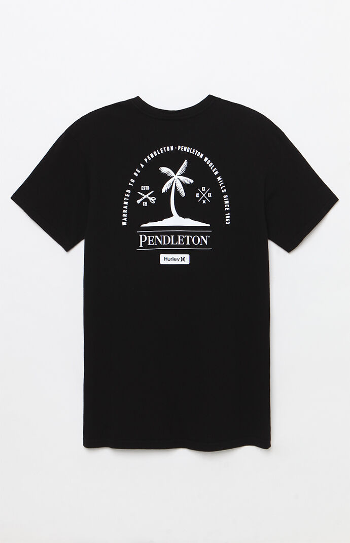 Hurley X Pendleton T Shirt At