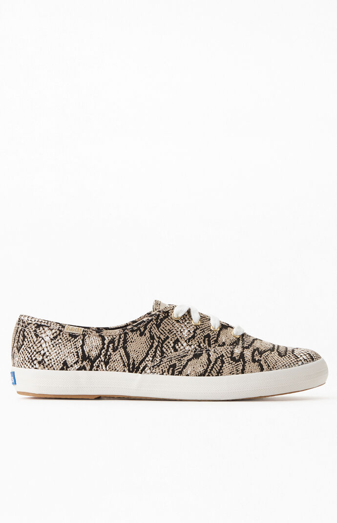 Women's Champion Snake Print Sneakers