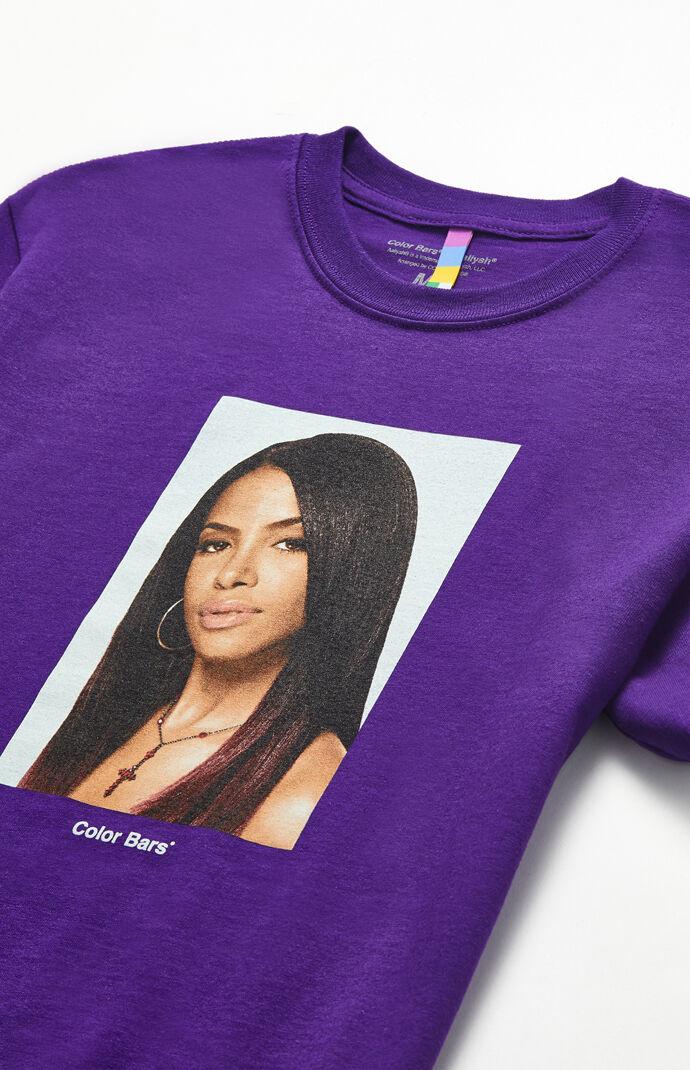 Aaliyah Portrait T-Shirt