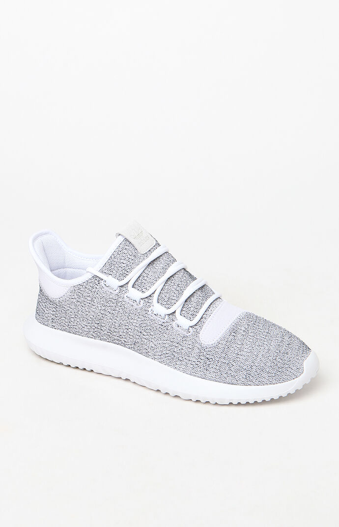 the best attitude c950a 2c92a adidas Tubular Shadow White and Grey Shoes at PacSun.com