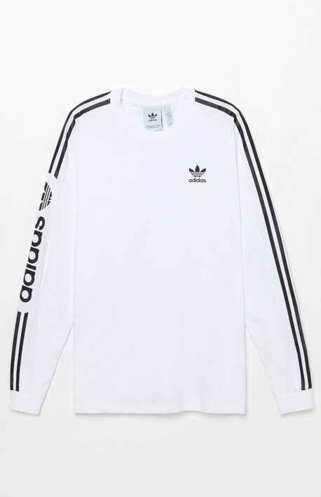 a7be9a223f5b adidas White Floating T-Shirt. 40.0.  40.00. Graphic Long Sleeve T-Shirt