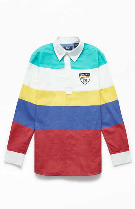 9d0b53e91 Heritage Popover Long Sleeve Rugby Shirt
